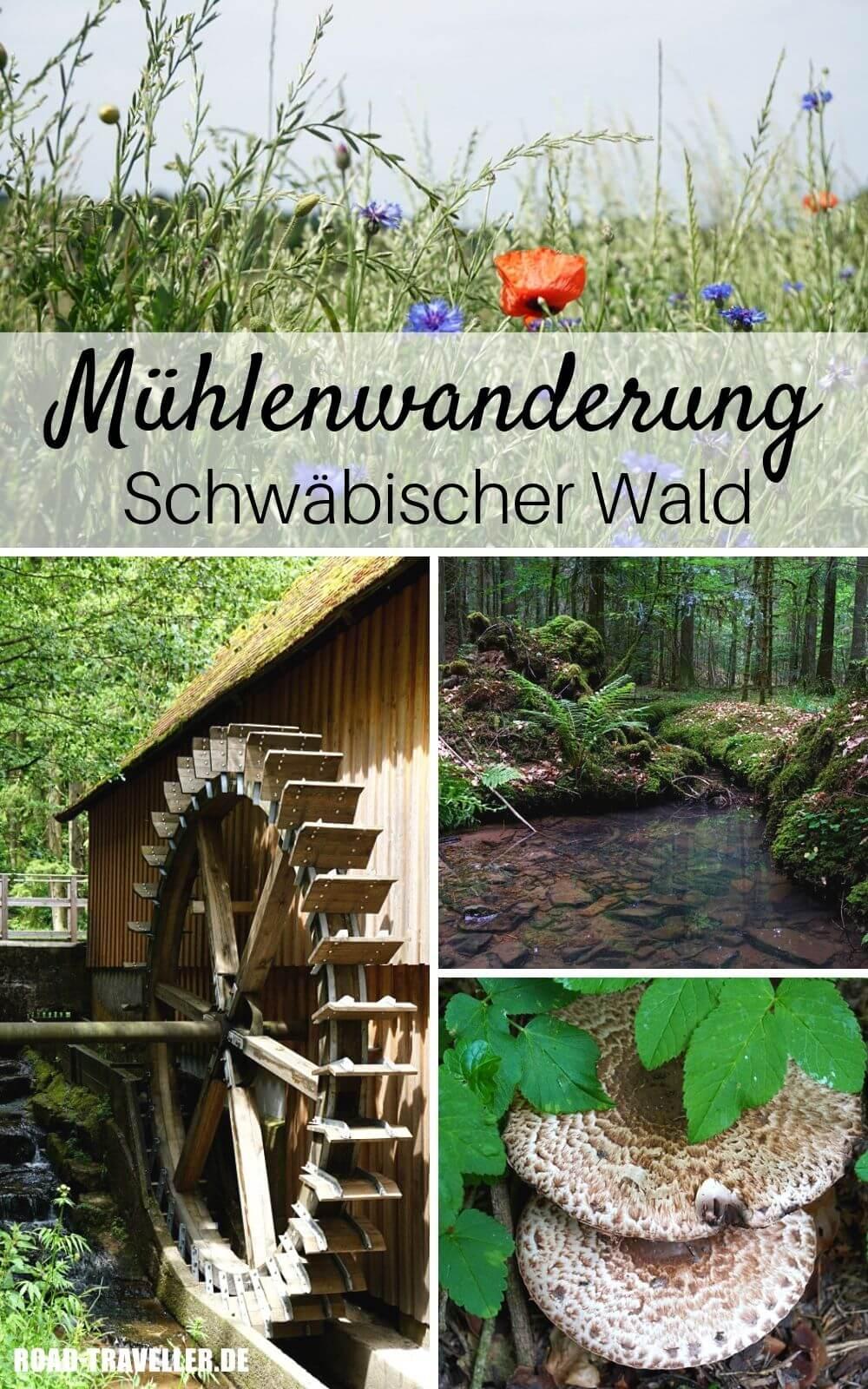 Der Muehlenwanderweg im Schwaebischen Wald
