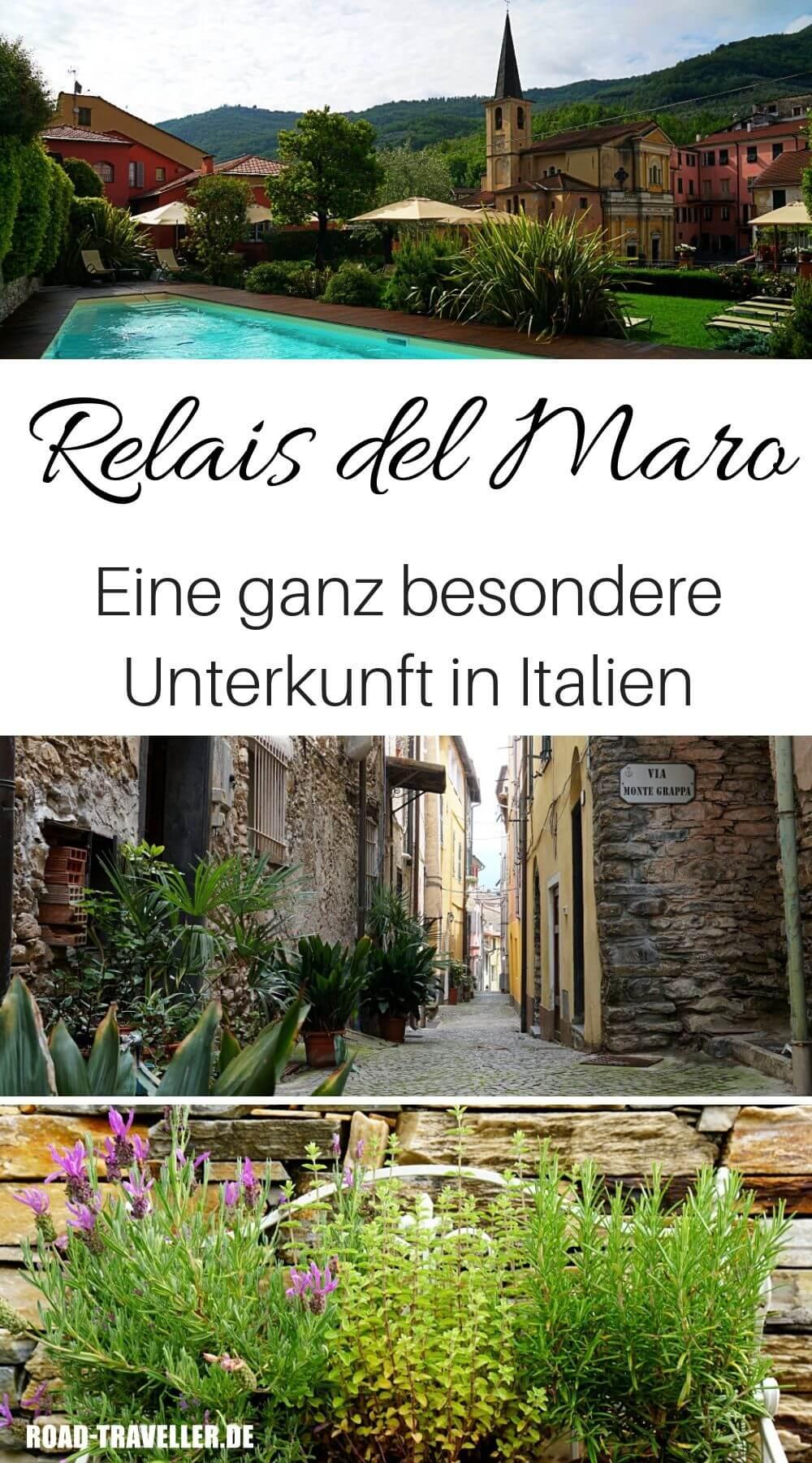 Das Relais del Maro - ein Albergo Diffuso in Ligurien