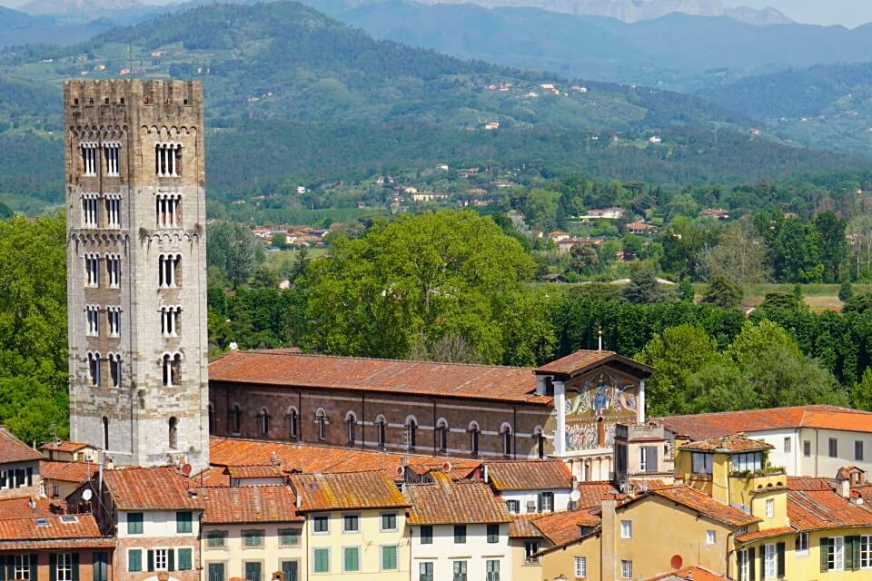 Basilica San Frediano in Lucca