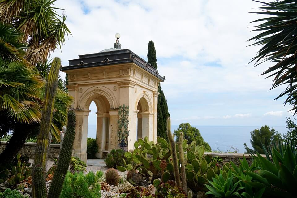 Botanischer Garten Hanbury in Ligurien