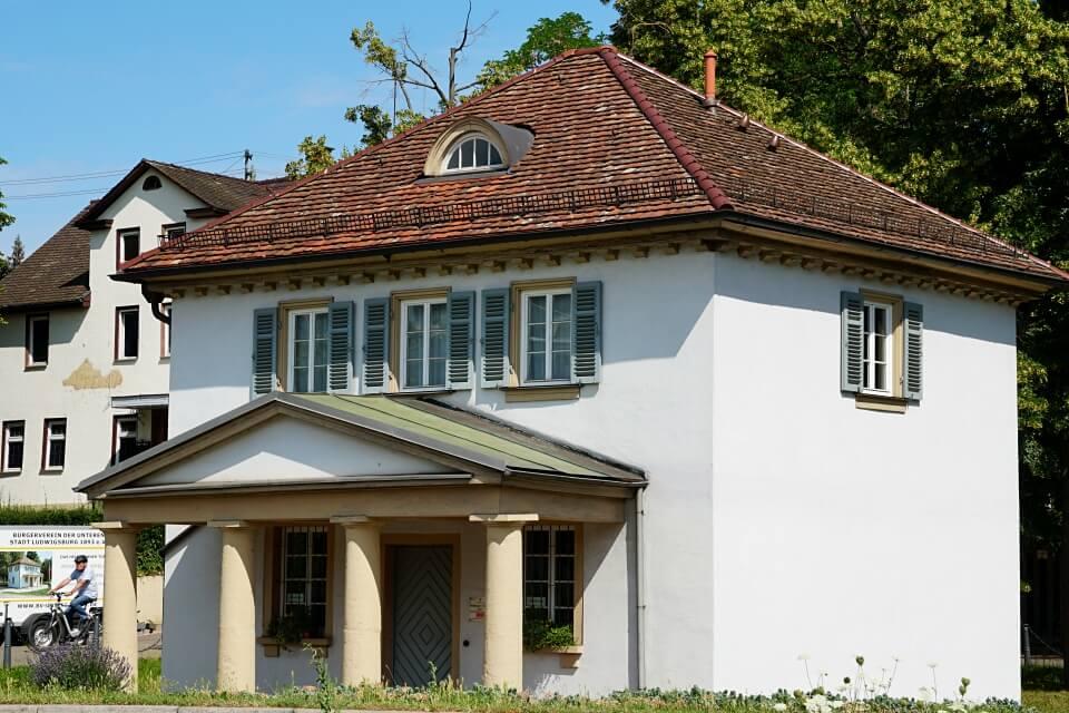 Das Heilbronner Torhaus in Ludwigsburg