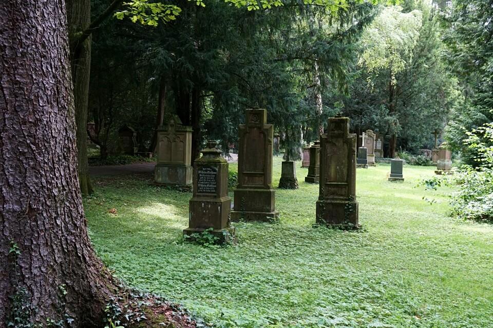 Der Alte Friedhof in Ludwigsburg