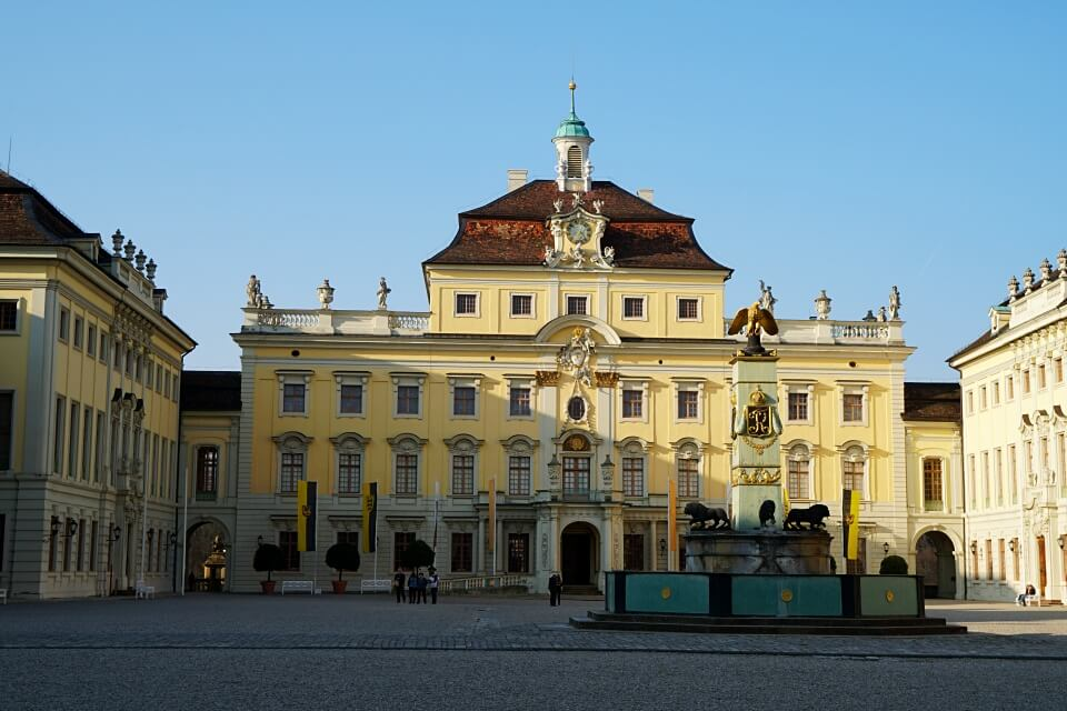 Das barocke Residenzschloss Ludwigsburg