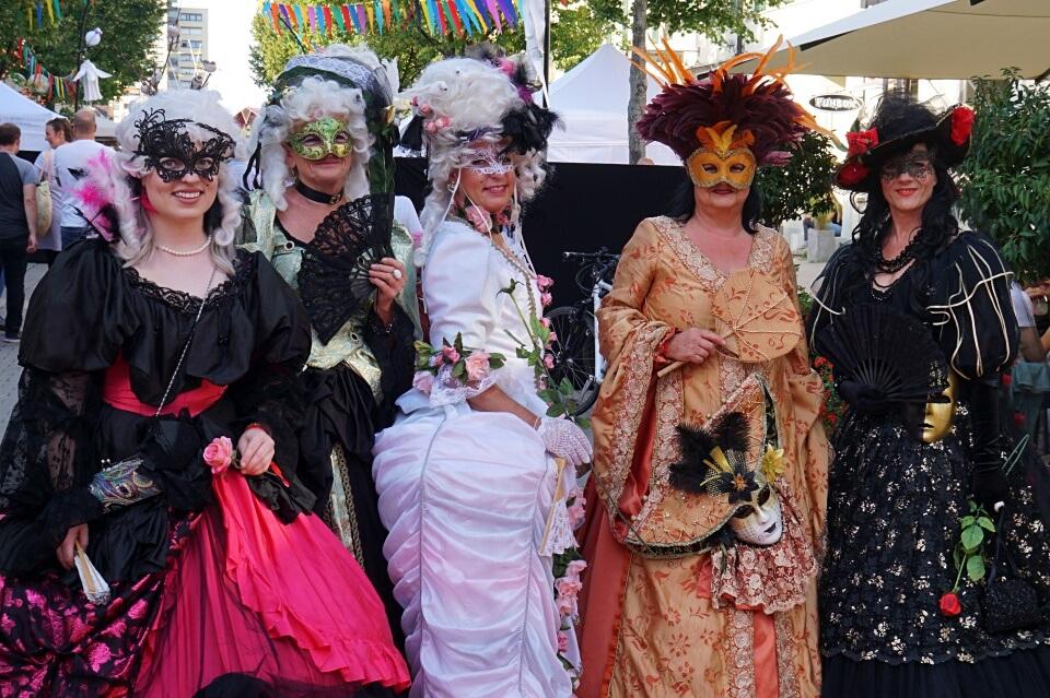 Venezianische Messe in Ludwigsburg