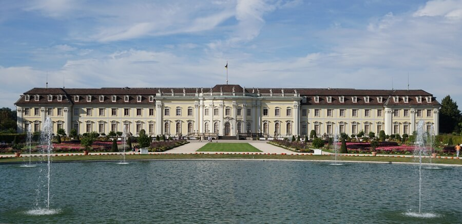 Bluehendes Barock und Residenzschloss Ludwigsburg