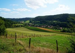 Pfad der Stille in Langenburg in Hohenlohe