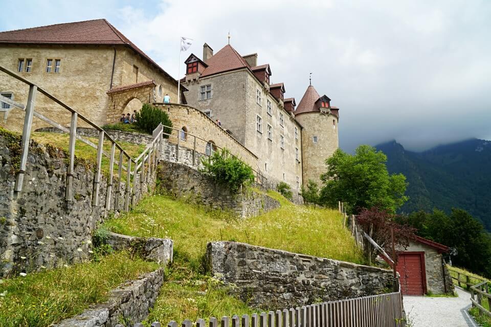 Schloss Greyerz in Gruyeres