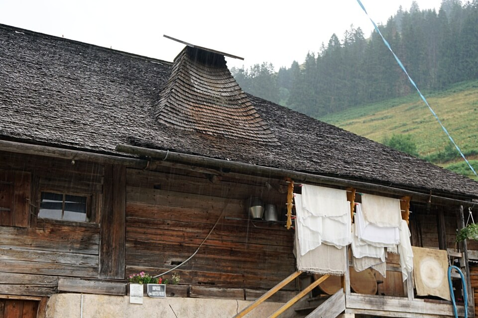 Alpkaeserei Moleson in La Gruyere