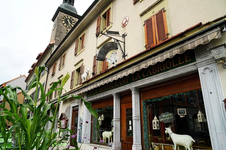 Restaurant La Cabriolet in Bulle