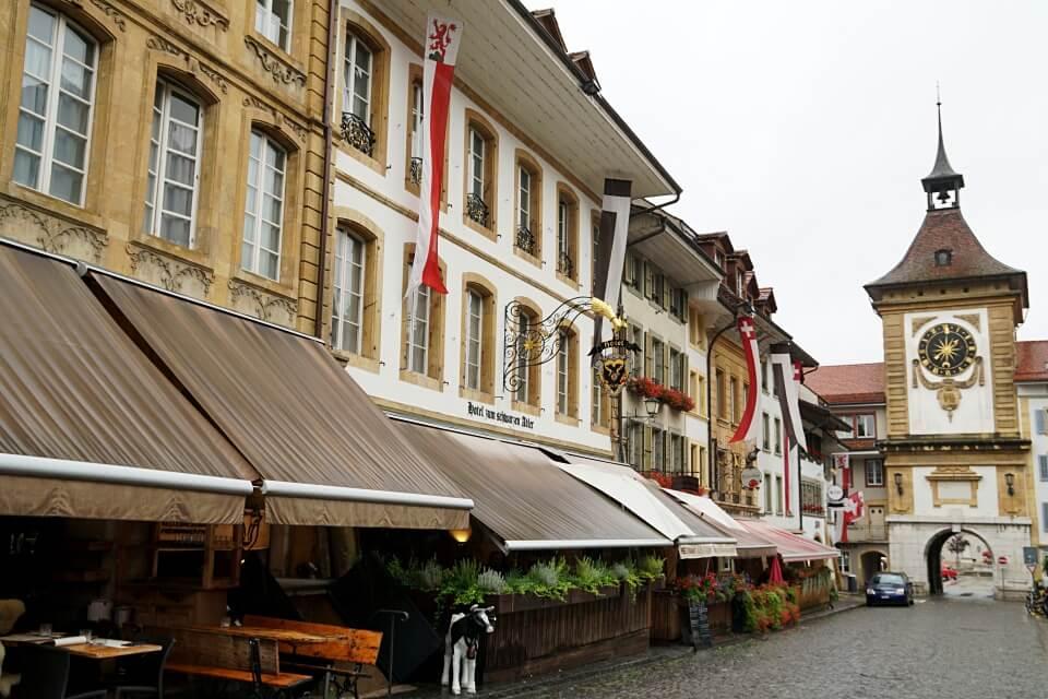 Zauberhaftes Murten am Murtensee in der Schweiz
