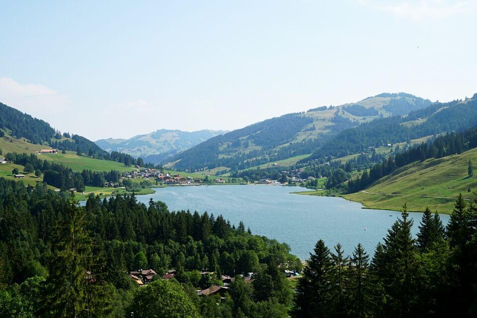 Ausblick auf den Schwarzsee