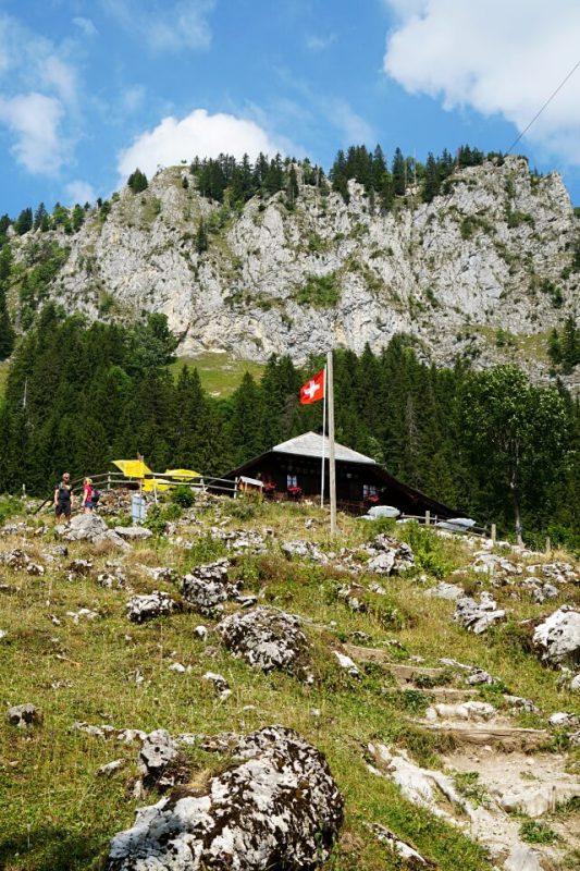 Blick auf die Alp Unteri Rippa
