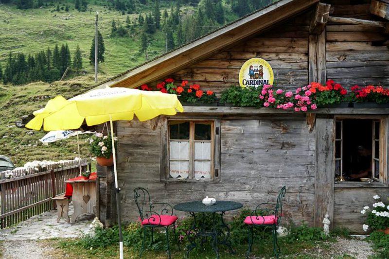 Einkehr Alp Marbach Brecca im Breccaschlund
