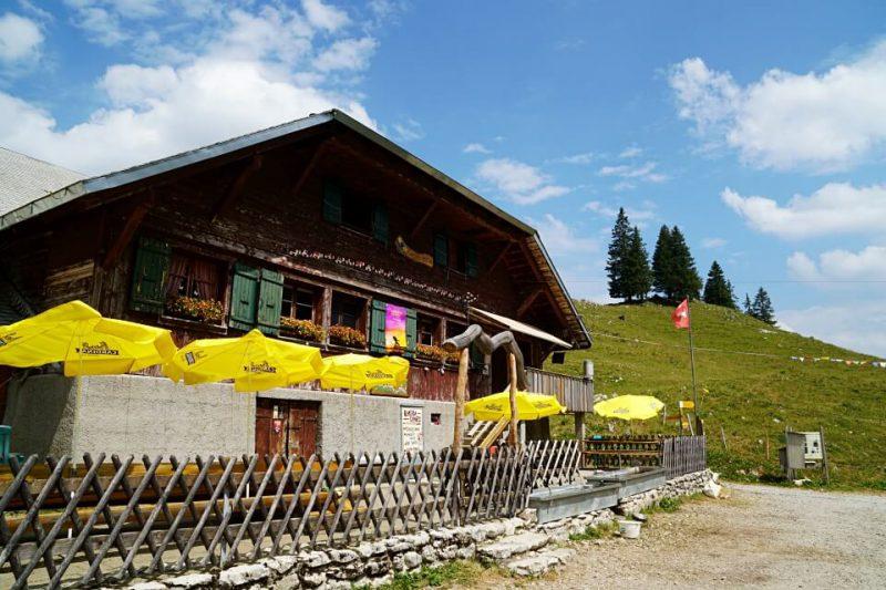 Die Alp Cerniets im Breccaschlund