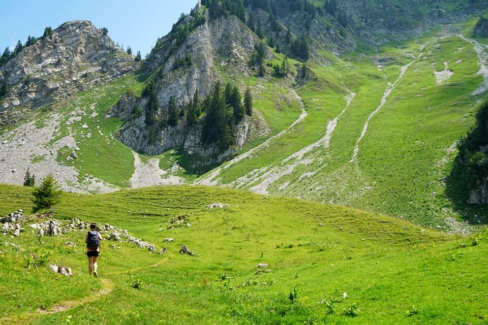 Wandern in der Urlandschaft Breccaschlund