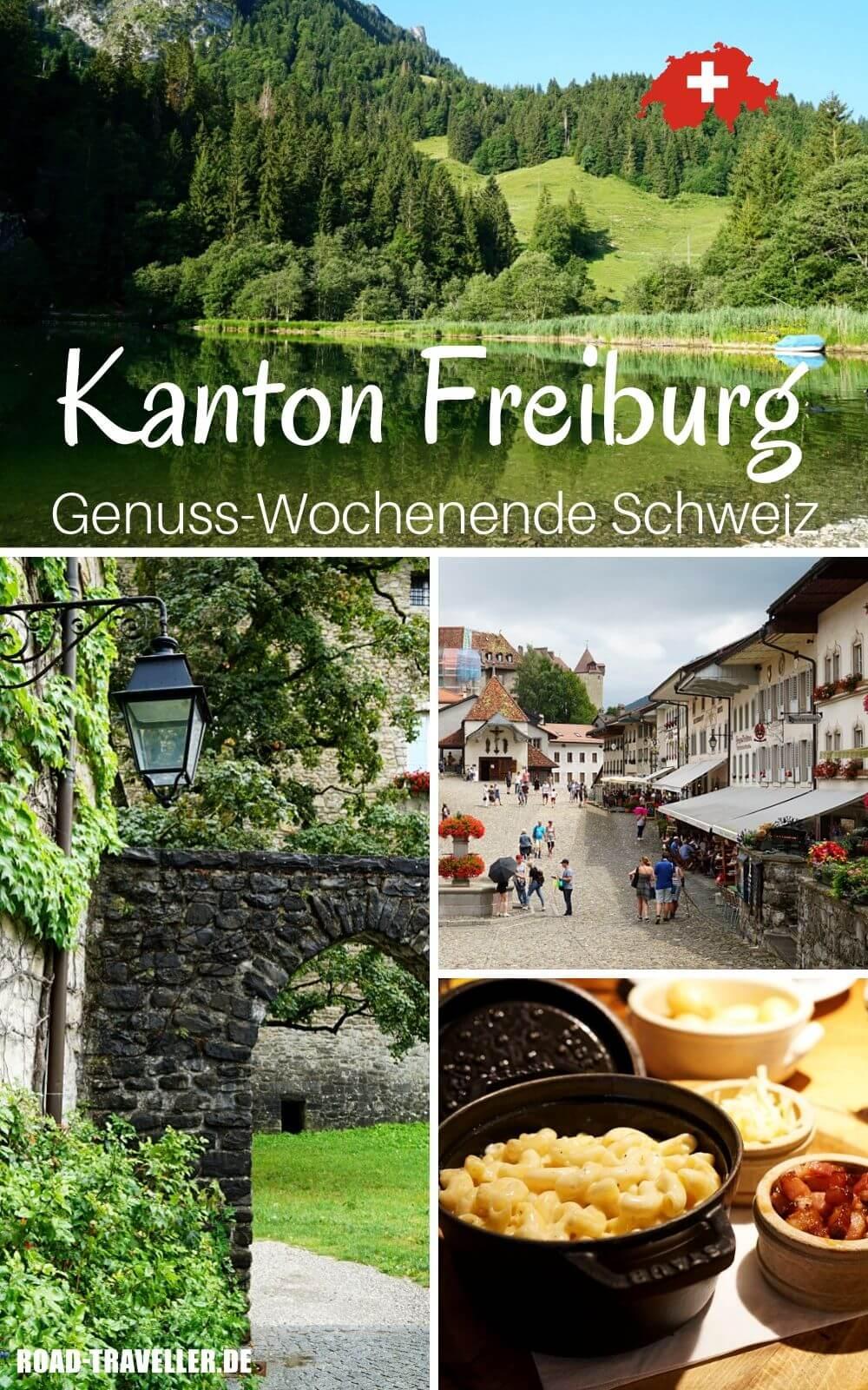 Wochenende im Kanton Freiburg und in der Region Gruyere mit Wandern und Geniessen