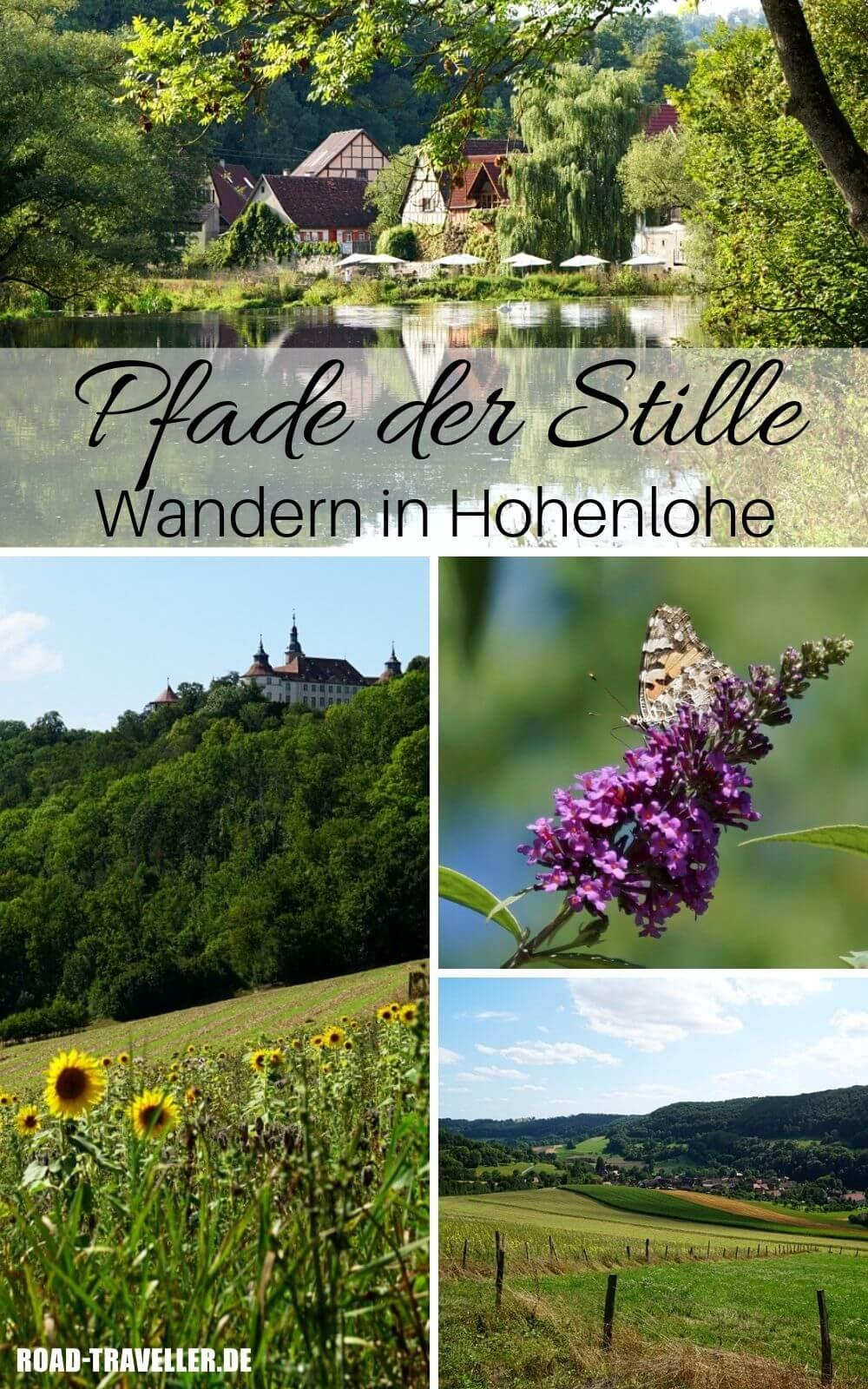 Wandern in Hohenlohe auf dem Pfad der Stille in Langenburg