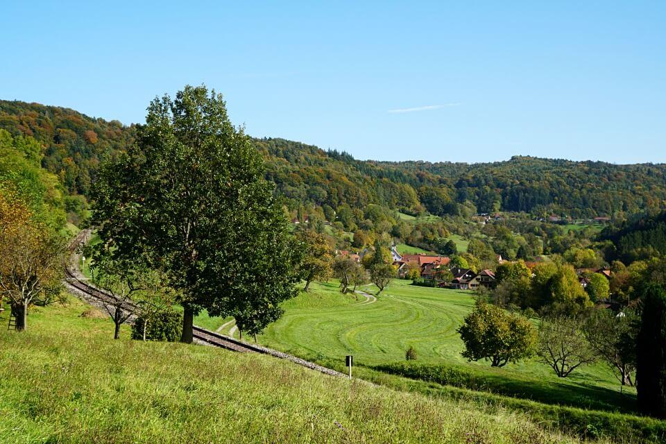 Ausblick Schwaebischer Wald