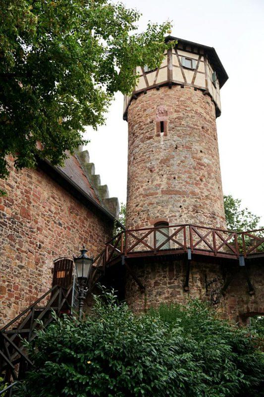 Der Diebsturm in Michelstadt