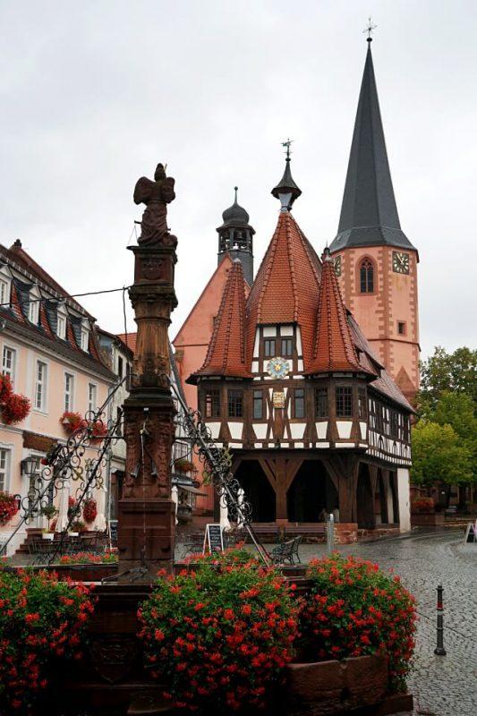 Historisches Rathaus Michelstadt im Odenwald