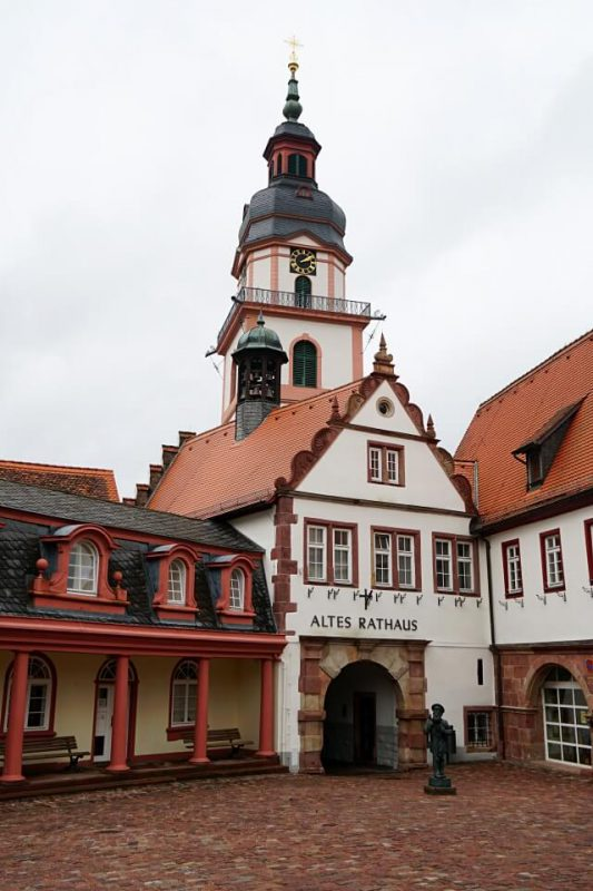 Altes Rathaus in Erbach