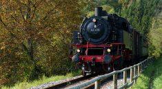 Die Schwaebische Waldbahn von Schorndorf nach Welzheim
