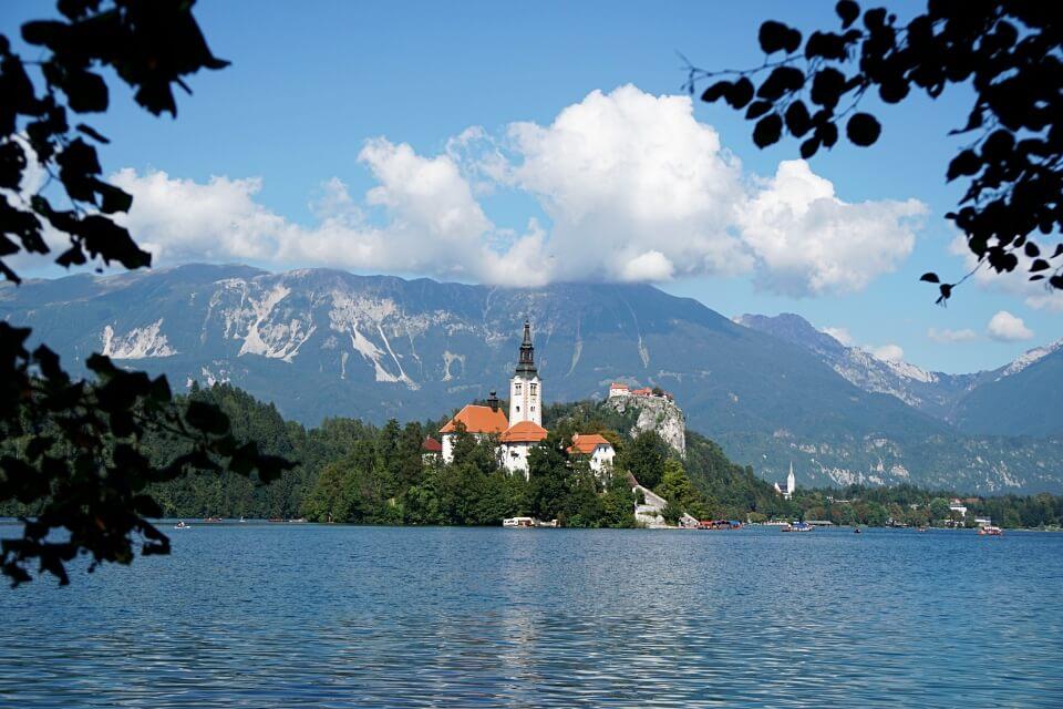 Der Bleder See in Slowenien
