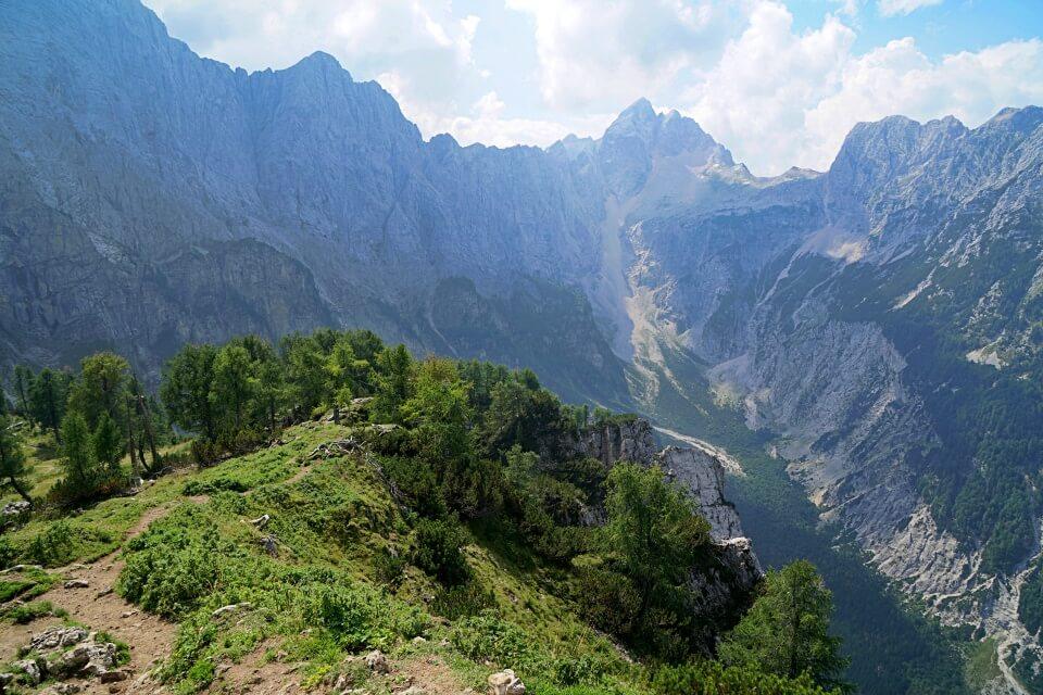 Wanderung im Triglav Nationalpark auf unserem Slowenien Roadtrip