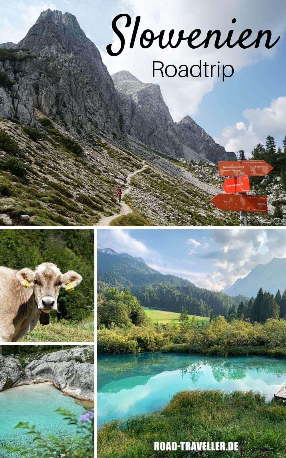 Slowenien Roadtrip und wandern im Triglav Nationalpark