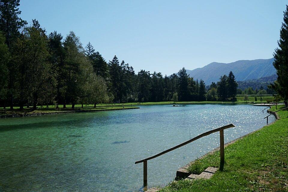 Camping Slowenien auf dem Campingplatz Sobec bei Bled