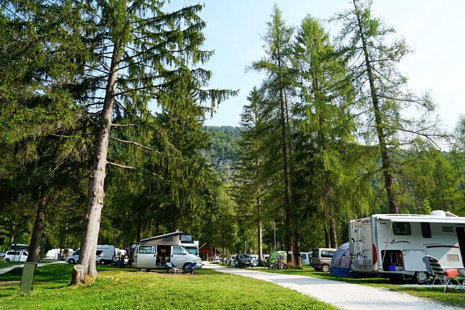 Camping Slowenien auf dem Campingplatz Spik