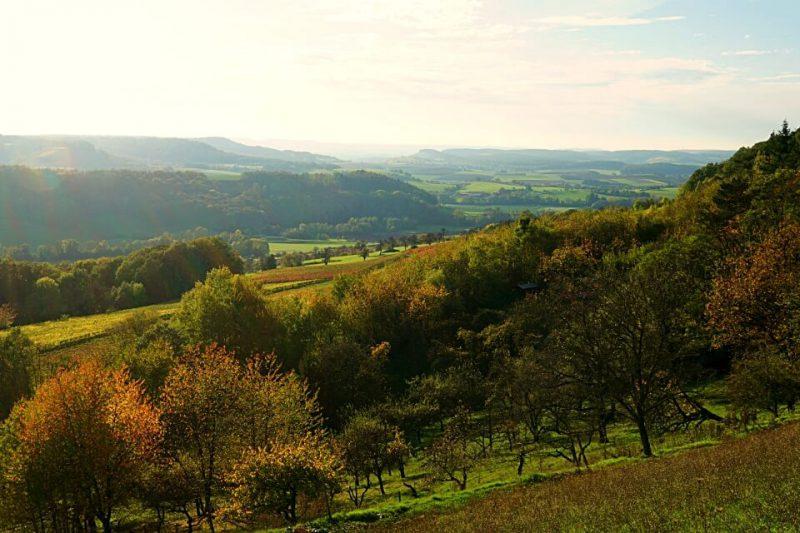 Herbstlandschaft Hohenlohe