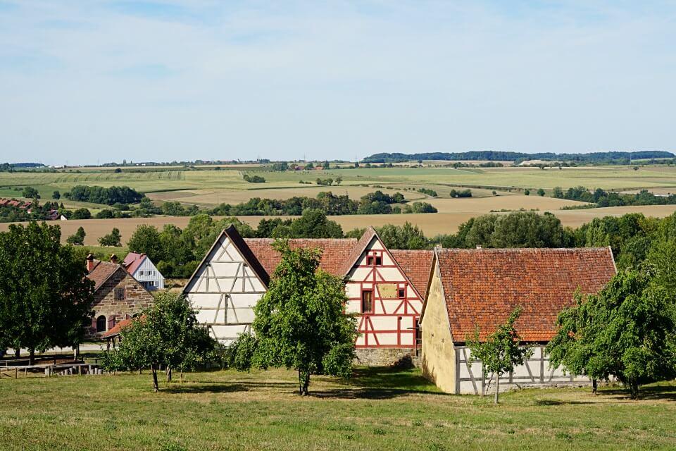Das Hohenloher Freilandmuseum Wackershofen