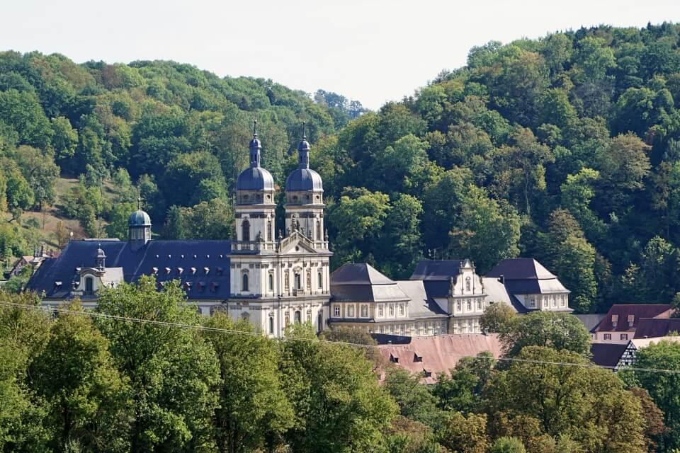 Kloster Schoental an der Jagst in Hohenlohe