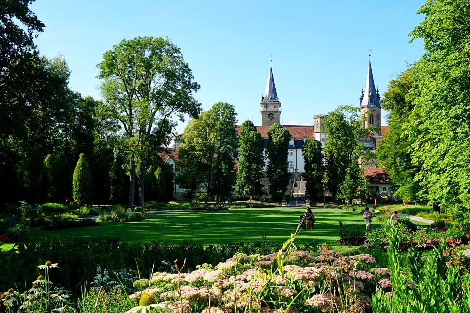 Der Hofgarten in Oehringen
