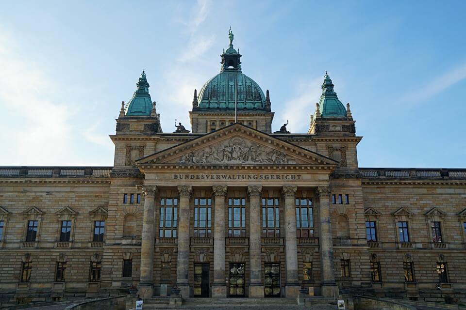 Das Bundesverwaltungsgericht in Leipzig
