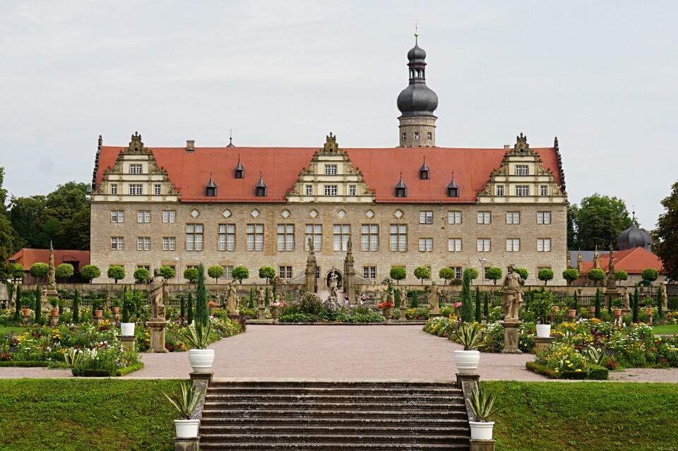 Schloss Weikersheim in Hohenlohe