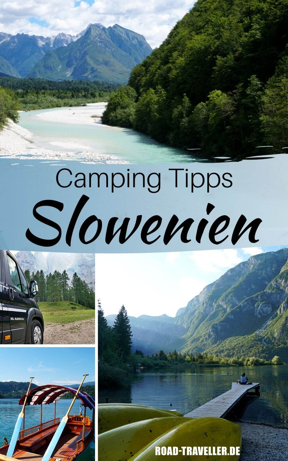 Camping im Triglav Nationalpark Slowenien
