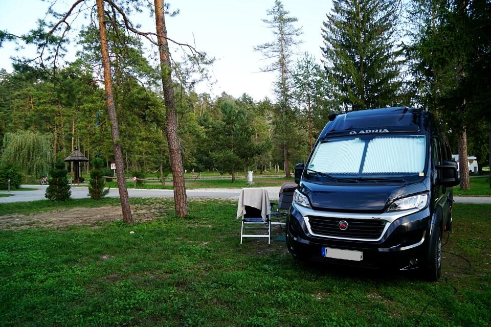 Camping Sobec in Slowenien Campingplatz bei Bled
