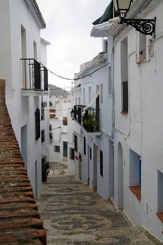 Frigiliana ist ein Pueblo Blanco in Andalusien