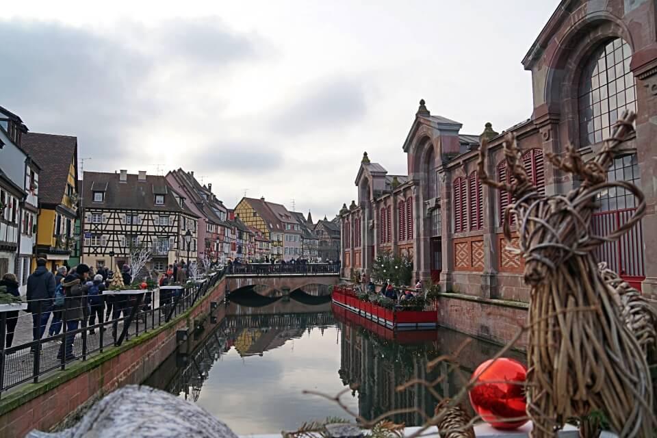 Petite Venise in Colmar im Elsass