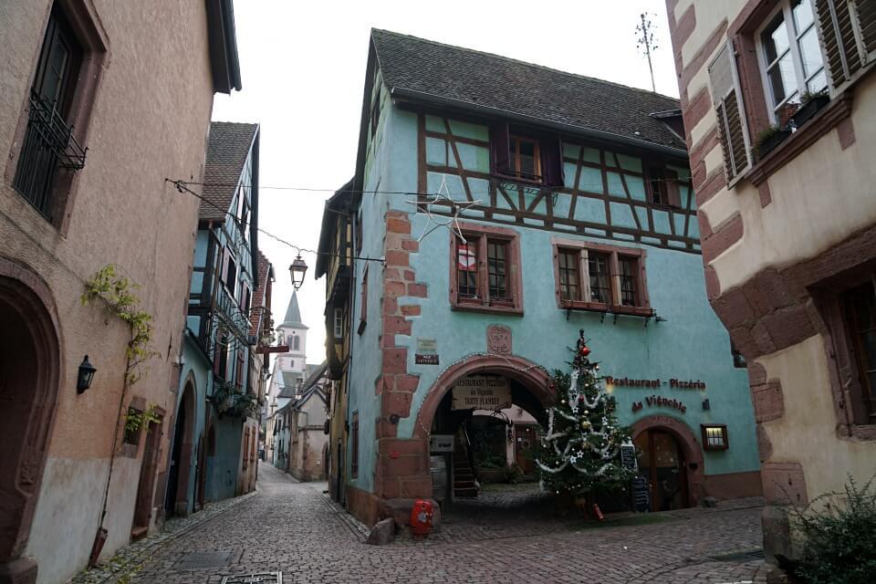 Restaurants und Winstubs in Riquewihr im Elsass an der Weinstrasse