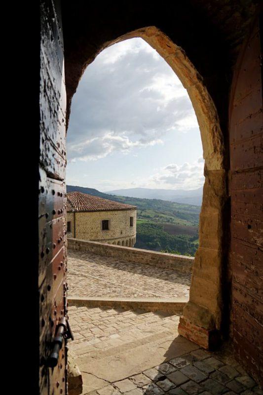 Ausblicke von der Festung San Leo