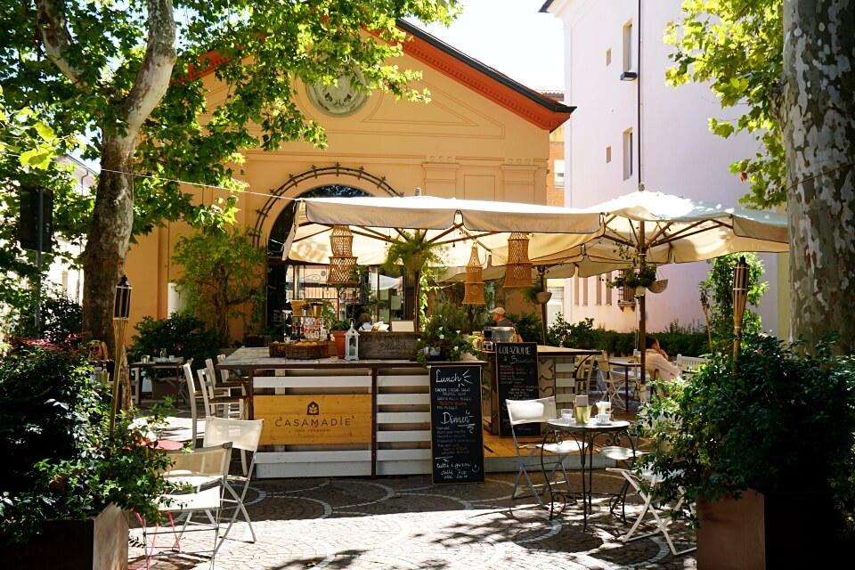 Cafe in Cervia