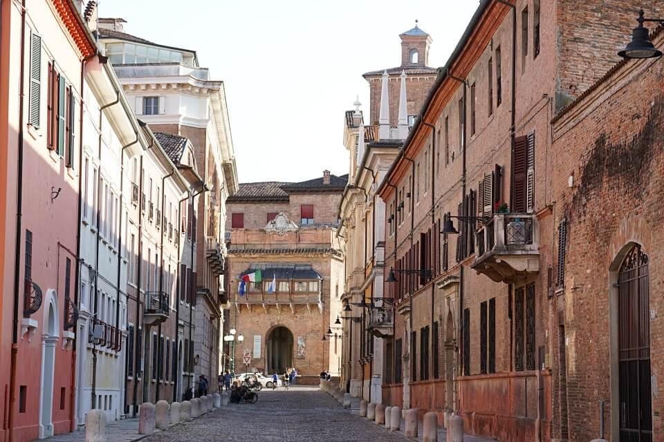 Corso Ercole I d Este in Ferrara