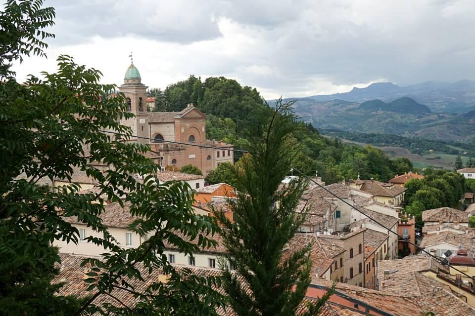 Verucchio ist ein Geheimtipp in der Emilia Romagna
