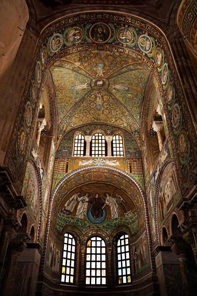 Mosaike in der Basilika San Vitale in Ravenna