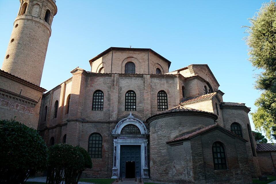 Die Basilica di San Vitale in Ravenna ist eine der Top Ravenna Sehenswuerdigkeiten