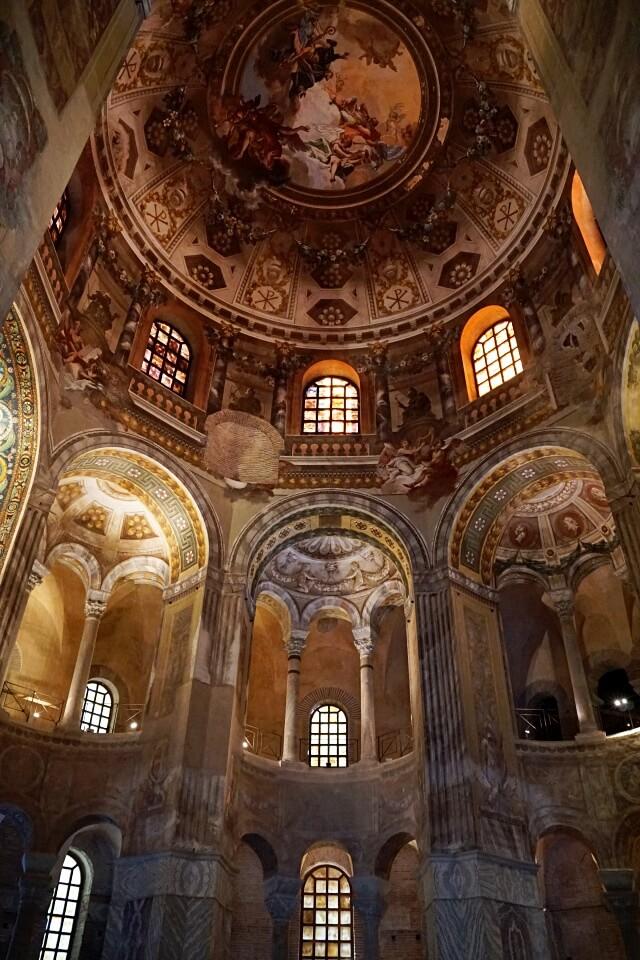 Mosaiken in Ravenna in der Basilica San Vitale