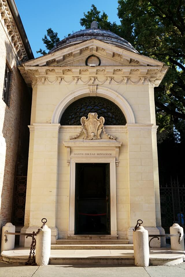 Grab von Dante in Ravenna